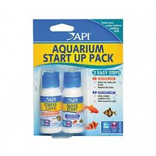 API Aquarium Start Up Pack Tap Safe Conditioner Stress Coat & Quick Start
