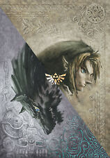 """the legend of zelda 25th anniversary Game Fabric poster 20"""" x 13"""" Decor 05"""