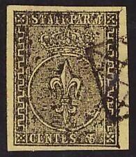 PARMA 1852 - 5 c. n. 1 USATO LUSSO A.DIENA € 250