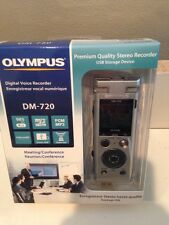 1 Of OLYMPUS DM-720 DIGITAL VOICE RECORDER 4GB -GHOST HUNTING EQUIPMENT-NEW