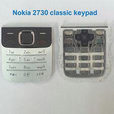 100% Genuine Original Nokia 2730 Classic Keypad - Silver