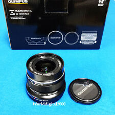 Olympus M.Zuiko 12mm F2.0 Limited Black Edition Metal Hood+Metal Cap+UV Filter
