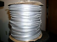 20 YARD ROLL OF SILVER MARINE GRADE PIPING/WELTING/$23.0G0 WITH FREE SHIPPING