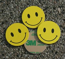 4x NFC Coin SMILEY gelb mit MIFARE Classic® Chip - 1k