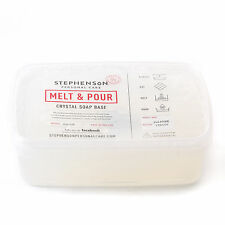 Melt & Pour Soap Base Clear SLS FREE 1Kg (SOAP1KCLEA)