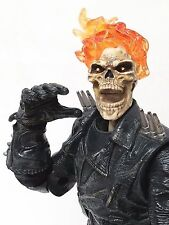 "Marvel Ghost Rider Hasbro 2006 Johnny Blaze 12"" Poseable Action Figure - Rare!"