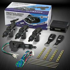 Universal 4 Door Car Central Power Door Lock /Unlock Remote Kit 2Keyless Entry