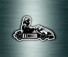 Decal sticker vinyl decor room man karting kart race racing ref1