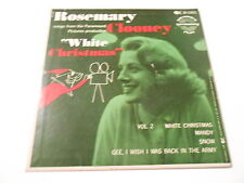"ROSEMARY CLOONEY  ""WHITE CHRISTMAS "",YOUR IN THE ARMY NOW  EP VINYL 45  M-/V++"