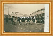 Olympic Games, 1896, preparation for the 100-meter race Sportler Photo S 155