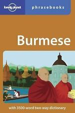 Lonely Planet Burmese Phrasebook (Lonely Planet Phrasebook: Burmese)