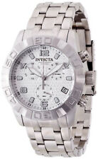 New Mens Invicta 80375 Pro Diver Ocean Predator Swiss Chronograph Steel Watch