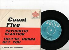COUNT FIVE 7'' PS They're Gonna Get You SWEDEN POS 1025 very rare Swedish 45