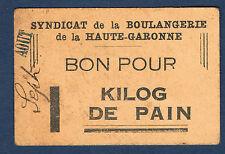 FRANCE - BON POUR 1Kg DE PAIN. Pirot n° 31f. Non Daté. Beige en TTB