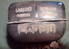 Alfa Romeo Vintage Lucas Voltage Regulator,
