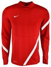 New NIKE SOCCER COMP 12 US MIDLAYER MENS- SMALL SHIRT LS JERSEY SCARLET TOP