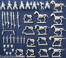 1997 Undead Wights on Skeleton Steeds Warhammer Citadel Cavalry Vampire Counts