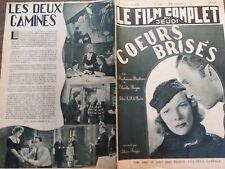 """LE FILM COMPLET 1936 N 1762 """"COEURS BRISES"""" avec KATHARINE HEPBUR- CHARLES BOYER"""