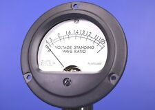 """Jewell VSWR Meter DC Ammeter 0-200mA 3.5"""" Dial P/N: 214-38"""