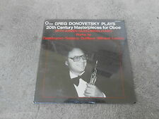 GREG DONOVETSKY PLAYS 2OTH CENTURY MASTERPIECES FOR OBOE-LP-VINYL-SEALED-NEW!