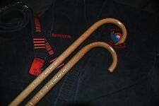 COMBAT CANE- SELF DEFENSE- MARTIAL ARTS- CUSTOM OAK CANES- SET OF 2-