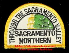 LMH Patch 10 SACRAMENTO NORTHERN Railroad  SN ELECTRIC Interurban  WP Valley LOT