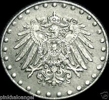 Germany - German Empire - German 1917E 10 Pfennig Coin - Word War I Coin