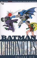 Batman Chronicles Vol. 06 (TP) Bill Finger New 1st