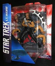 Star Trek The Next Generation Lt Worf Action Figure (Diamond Select) - New!