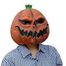 Scary Latex Mask Overhead Pumpkin Ghosts Fancy Dress scary Halloween horror prop