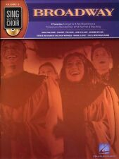 Sing With The Choir Broadway Learn to Sing Vocal Choral Voice Music Book