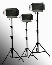 3 x 500 LED Photography Video lighting Panels & Stands