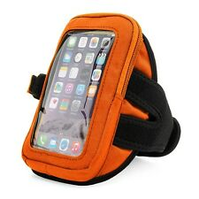 VanGoddy Orange Sports Zippered Armband Wrist Pouch For Apple iPhone 7/6/6s 4.7""