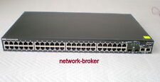 Dell Powerconnect 3548P 48 - Port 10/100 PoE Switch 2 x GB uplink PoE switch