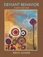 Deviant Behavior by Erich Goode