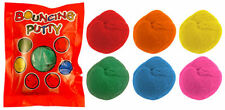 12x Mini Bouncing Putty - Various Assorted Colours 5g Party Bag Fillers UK SELL