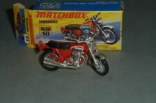 Matchbox Superfast Nr. 18 Hondarora verchromte Vorderradgabel in Box / OVP Top!