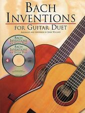 JS Bach Inventions For Guitar Duet Learn to Play Duet Guitar TAB Music Book