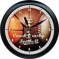 Personalized Sports Coach Gift  Wall Clock Gift