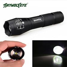 5000Lumen Zoomable CREE XML T6 LED 18650 Flashlight Focus Torch Zoom Light GL