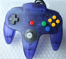 *TIGHT STICK* Nintendo 64 GRAPE PURPLE Controller Funtastic Atomic Clear OEM HTF
