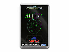 ALIEN 3 Sega Megadrive Game Cover Art Fridge Magnet