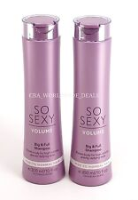New Victoria's Secret Lot of 2 So Sexy Volume Shampoo Fine to Normal Hair 10oz