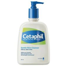 500ml Cetaphil Gentle Skin Cleanser Facial & Full Body Cleansing Moisturiser