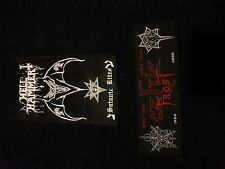 black metal patch lot, Celtic Frost, Hellhammer