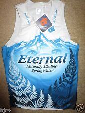 Eternal Spring Water Running Cycling Triathlon Champion System Jersey SM S NEW
