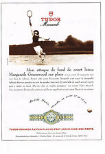 PUBLICITE ADVERTISING 054  1993  TUDOR MONARCH  montre MARGARETH GREENWOOD