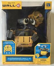 Disney WallE U Command Remote Control Robot Original Collectible Pixar Toy