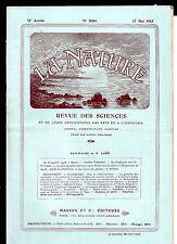 """La Nature N° 2086  -  Mai 1913 - Revue des sciences - Dirigeable """"Spiess"""""""