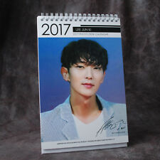 K-STAR LEE JUN KI  2017-2018 high-resolution PHOTO DESK CALENDAR